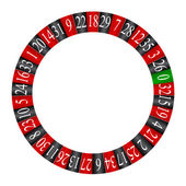 Roulette wheel — Stock Vector