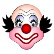 Smiling clown — Stock Vector #51971313
