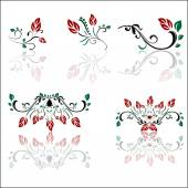 Swirl ornament — Vector de stock