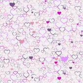 Colorful Valentine's day background — Stockvector