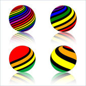 Colorful Sphere — Stock Vector