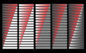 Loader progress bar, vector — Stock Vector