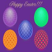 Estear eggs — Stock Vector