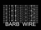 Barbwire barcode — Stock Vector
