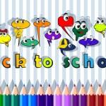 Back to school — Stock Vector #52307595