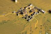 Motherboard, processor connection, chip — Foto de Stock