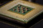 Processor connection, chip — Foto de Stock