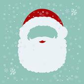 Santa Claus mask — Stock Vector
