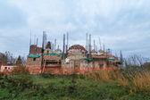 Ortodox Church under construction — Stock Photo