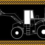 Loader excavator machinery equipment — Stock Vector #73751157