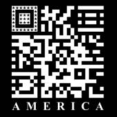 USA QR code — Stock Vector