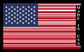 USA barcode flag — Stock Vector