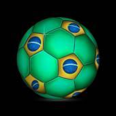 Fifa world cup Brazilië bal — Stockvector