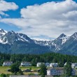 Beautiful view of Haines city near Glacier Bay, Alaska, USA — Stock Photo #51859431