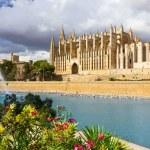 The Cathedral of Santa Maria of Palma de Mallorca, La Seu, Spain — Stock Photo #57104479