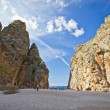Beautiful view of Sa Calobra on Mallorca Island, Spain — Stock Photo #57611431