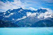 Glacier bay nelle montagne in alaska, stati uniti — Foto Stock
