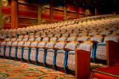 Beautiful view of elegant traditional theatre hall — ストック写真