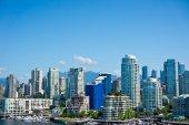 Прекрасный вид на Ванкувер, Британская Колумбия, Канада — Стоковое фото