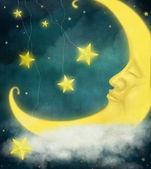 Fairytale Moon — Stock Photo