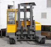 Side loader forklift — Stock Photo
