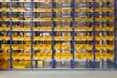Storage bins — Stock Photo