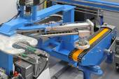 Robotic conveyor system — Stock Photo