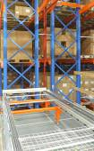 Automated distribution warehouse — Stock fotografie