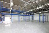 Empty storage room — Stock Photo