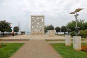WWII monument Rovinj — Stock Photo