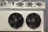 Industrial fans — Stock Photo
