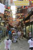Spanish Quarters Naples — Stock Photo
