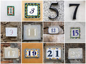 Odd numbers — Stock Photo