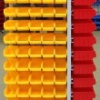 Plastic storage bins — Stock Photo #60520431