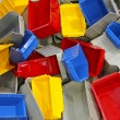 Plastic tubs and bins — Stock Photo #60520477