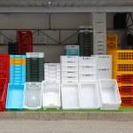 Plastic crates — Stock Photo #60663769