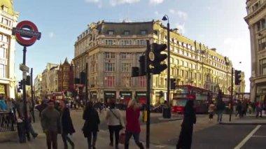 Oxford street de Londres — Vídeo de Stock