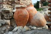 Nessebar, Bulgaria, artifacts — Stock Photo
