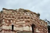 Ancient church in Nessebar, Bulgaria — Stockfoto