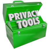 Privacy Tools Resources Data Personal Information Protection Too — Foto Stock