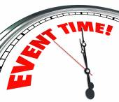 Event Time Reminder Clock Countdown Deadline — Foto Stock