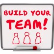 Build Your Team Workers Employees — Stock Photo #55026085