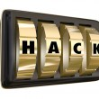 Hack Word Safe Dials Violate Privacy Security Classified Informa — Stock Photo #55027699