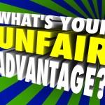 What's Your Unfair Advantage Words Unique Winning Edge — Stock Photo #55033497