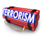 Terrorism Bomb Dynamite Blow Up Attack Danger — Foto Stock
