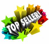 Top Seller Sales Person Stars Best Employee Worker Results — Stock Photo