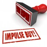 Impulse Buy words in red stamp — Stock Photo #59574393