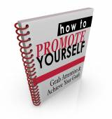 How to Promote Yourself book — 图库照片