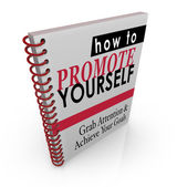 How to Promote Yourself book — Fotografia Stock