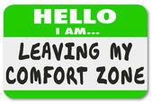 Leaving My Comfort Zone — Stock Photo